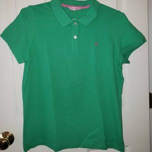 Lilly Pulitzer Green Polo - Size XL